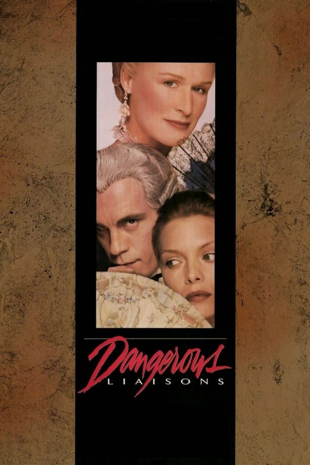 "Poster for the movie ""Dangerous Liaisons"""