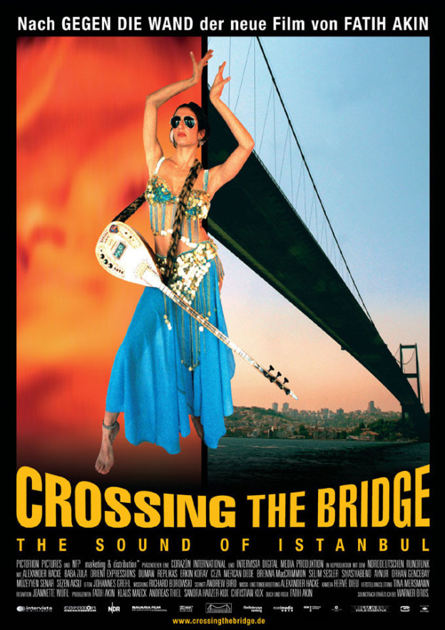 "Poster for the movie ""Crossing the Bridge: The Sound of Istanbul"""