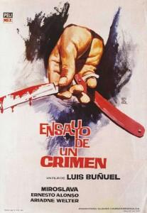 """Poster for the movie """"The Criminal Life of Archibaldo de la Cruz"""""""